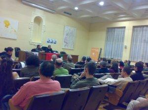 Más de 100 personas solidarias con Palestina en el acto del PCPA y CJC