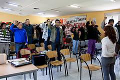 XX escuela puños