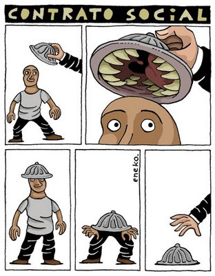 casco asesino como la patronal