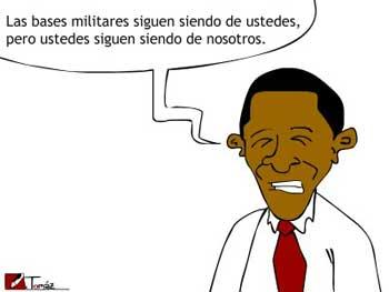 Obama impone 7 bases en Colombia ¿Para el blanqueo del negocio de la droga o para parar a la izquierda latinoamericana y su proceso bolivariano antiimperialista?